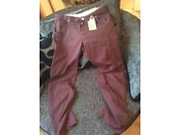 MENS 34S BNWT NANNY STATE CHINO TWISTS RRP £38