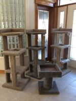 Cat Condos / Tree House /Scratching Posts - Made Very Strong!