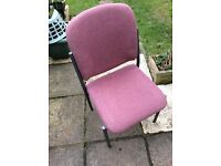 Heavy Duty MULTI -PURPOSE Stackable CHAIRS - Excellent Condition