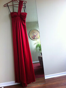 Red dress - size 3/4