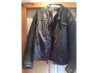 Harley Davidson fxrg leather jacket 2xl