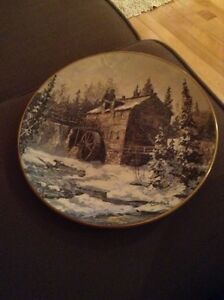 """Keirstead """"The Sawmill-Kings Landing"""" plate"""
