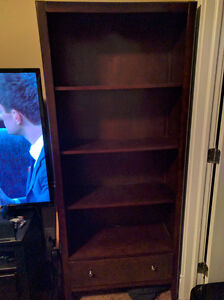 4 Shelf Bookcase with Drawer