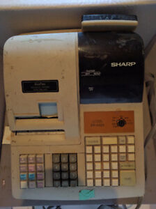 Cash Register-sharp 320, keys, manuals, excellent working