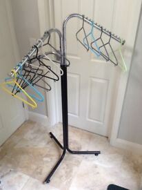 Clothing Rail and Hangers