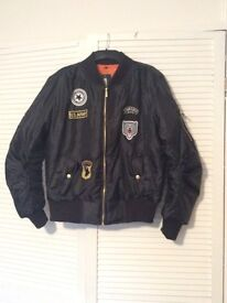 BOMBER JACKET WITH MOTIF