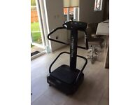 Immaculate vibro plate