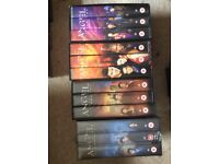 Two seasons of Angel on VHS - job lot