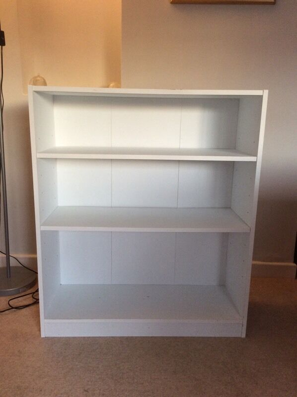 White Argos Maine Small Extra Deep Bookcase New 29 99