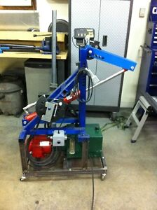 Hydraulic Tubing Bender With DRO