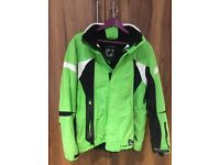 Killtec Technical Ski jacket size large in bright green and black