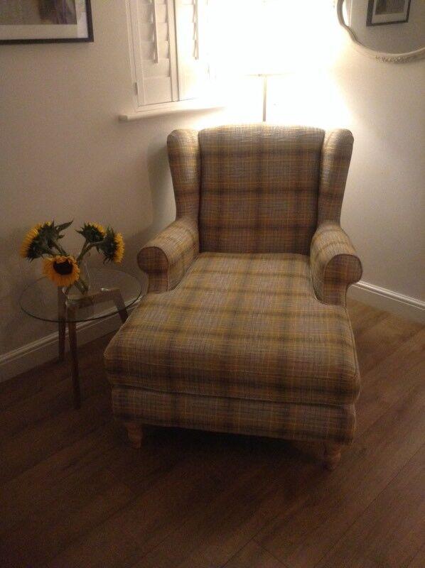 Next Sherlock Snuggle Chaise In Boucle Ochre In