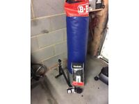 Punch bag boxing and gym equipment