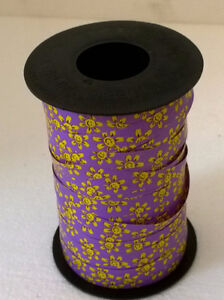Large roll of purple smiley face ribbon London Ontario image 1