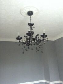 Black Chandelier - collection only - £15