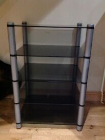 Glass Hifi stand excellent condition
