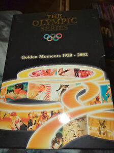 The Olympic series 1920-2002 golden moments dvds volume 1-6 10$
