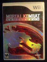 Mortal kombat Armageddon Wii