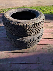 Selling Two 205/60R15 Goodyear Ultragrip Winter Tires