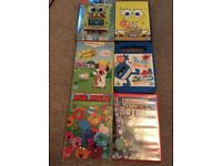 Various children's DVDs