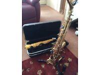Saxophone plus accessories for sale