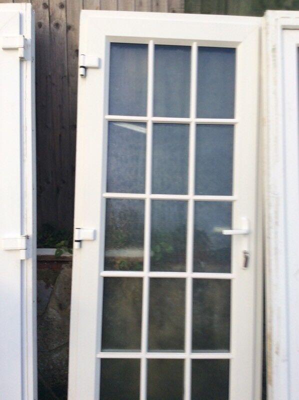 Upvc door double glazed