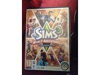Sims 3 world adventures expansion pack for PC incl booklet and installation code. Super condition