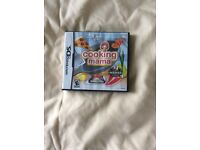 Nintendo DS game cooking mama
