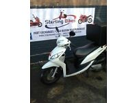 HONDA VISION 110 NSC110 PIZZA SCOOTER BIKE FOR SALE DELIVERY DELIVEROO STERLING