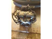 2003 peugeot 206 1.1 engine good condition spares citroen repair