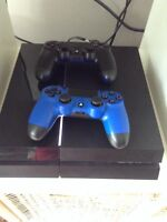 PS4, 14 games, 2 controllers FOR XBOX 1