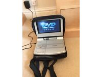 Car DVD player with accessories