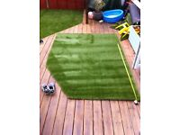 Artificial grass off cut