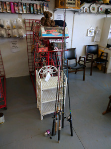 Fishing tackle and rods