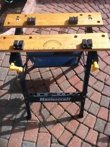 MASTERCRAFT LADDER TABLE SAW STAND