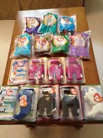 14 Teenie Beanie Babies EASTER or LOOT BAGS New