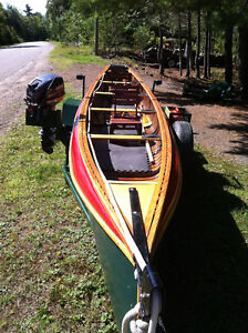 26 Foot Motor Canoe (2014) Outfit