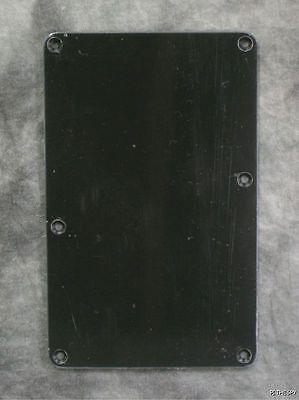 Ibanez Tremolo Back Plate Cover Black RG RGT S JS100 Jem555 Trem Back Plate, used for sale  Livonia