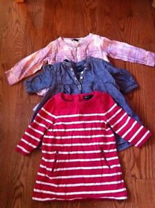 Baby Gap long sleeved dresses