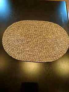 6 Large wicker Hot Plates. Perfect for a table setting  Kitchener / Waterloo Kitchener Area image 2