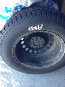 Winter Tires Tigerpaw Ice and Snow 205 / 65 R15 on Rims
