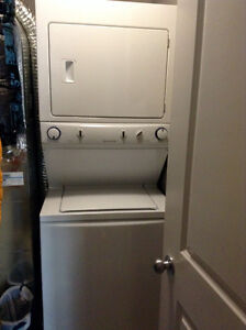 Frigidaire stacked combo washer/dryer <3 months old