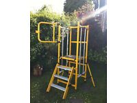 SCAFFOLD PORTABLE FOLD UP TOWER