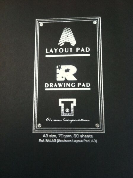 New and unused Azone - A3 Layout/Drawing Pad.