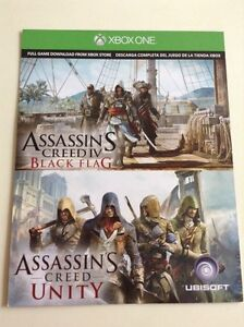 2 Assassins creed games for Xbox one worth $55 London Ontario image 1