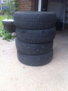 Set of 4 Winter Michelin Tires