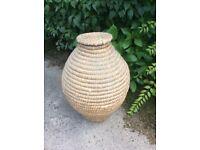 Vintage Large Ali Baba Basket