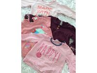 Huge bundle baby Girls Clothes 0-12 months