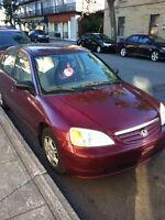 2003 Honda Civic Tres propre a vendre sur le meilheur offre
