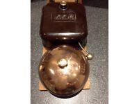 Vintage Bakelite door bell